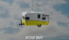 Classic '62 Shasta Airflyte Camper Travel Trailer Christmas Ornament Vacation RV