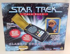 Star Trek Classic Communicator Talk Back - Collectors Edition Boxed