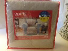 Pet Throw Sure fit Soft Suede Furniture Slipcover Chair New Tan Dog Cover