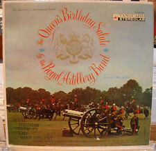 LP THE QUEEN'S BIRTHDAY SALUTE by the ROYAL ARTILLERY BAND 1957 VANGUARD STEREO