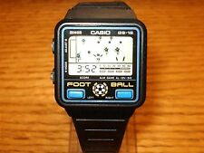 Casio GS-12 Foot Ball Digital Game Watch 1980s Japan