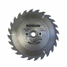 "7.25""X24T M-2 CARBIDE ADJUSTABLE DADO SAW BLADE"