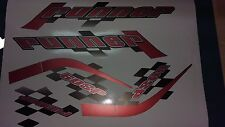 Gilera Runner 50 sp new shape sticker set, RED SOUL (black soul, white soul REP)