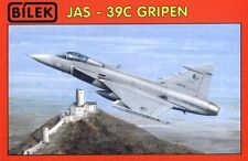 JAS 39 C GRIPEN W/PHOTO-ETCHED PARTS (CZECH AF MARKINGS)  1/72 BILEK (saab)