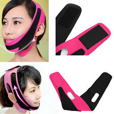 Beauty V-Line Face Tone Mask Chin Cheek Neck Jaw Slimming Slim Lift up Soft Belt
