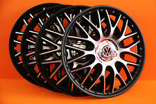 "14"" Vw Polo,Golf,Fox,Lupo,etc... Wheel Trims / Covers, Hub Caps,black&silver"