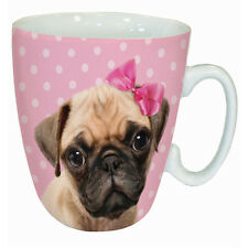 Cute Pug Mug - Novelty Mug - Gift for Pug Dog Lovers - With Gift Box - FREE P&P