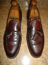 Alden Brown Leather Shell Cordovan Tassle Loafer Men SZ# 11.5 AA/B