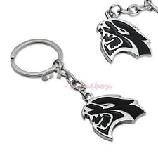 1PC Dodge Hellcat Hell Cat 3D Keychain Key Chain Fob Ring Challenger Charger