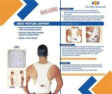 High Quality Adjustable Back Posture Support Corrector Brace Unisex Soft Cotton