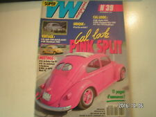 **c Super VW Magazine n°39 Pink split / Karmann Ghia 1959 / Cox 1972