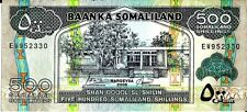 SOMALILAND 2006 500 SHILLINGS CURRENCY UNC 3.25