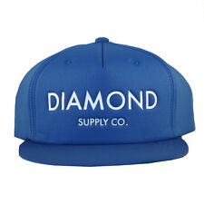 Diamond Supply Co. Classic Snapback Cap Hat Blue