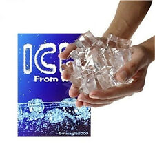 Magic Trick Ice From Water Magic Close-up Magic
