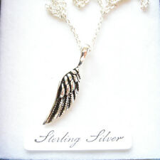 STERLING SILVER ANGEL WING PENDANT.  ANGELS WING PENDANT MADE OF SILVER