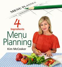 Direct from 4 Ingredients, Menu Planner, Signed by Kim