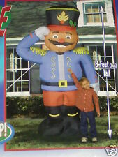 NEW RARE 8' Tall Gemmy Toy Soldier Lighted Christmas Airblown Inflatable