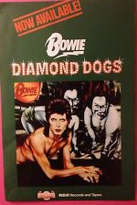David Bowie A2 Diamond Dogs Poster