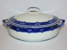 Antique Collectable Lennox By Alfred Meakin Blue Tureen With Lid