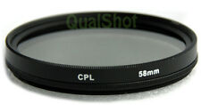 58mm CPL Polarizer Glass Filter for Sony DSC-H10 H5 H3 H2 H1 F828