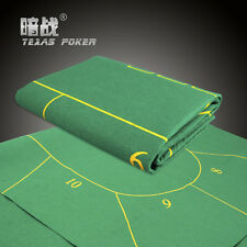 Folding Felt Rotary Texas Holdem Poker Table Cloth Fietro Board Cloth 10 player