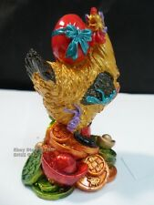 Chinese Year of the Chiken/Rooster Zodiac Sign Feng Shui Lucky Figurine Statue A
