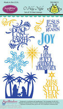 JustRite Clear O Holy Night Stamps SW-04615 **Free Ship!**