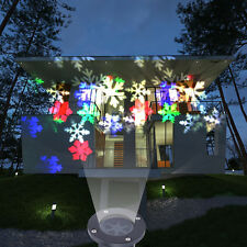 Waterproof Moving Laser Projector LED Lights Outdoor Christmas Party Decor Lamp