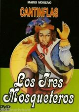 Los Tres Mosqueteros (DVD, 2010) Cantinflas *SPANISH*