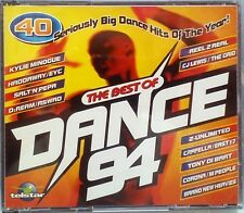 Various Artists - The Best Of Dance 94 (Telstar CD  1994) Fatbox Jewel Case
