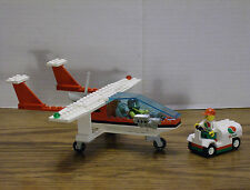 Lego 6341 GAS N' GO FLYER City Town Plane w/Instructions