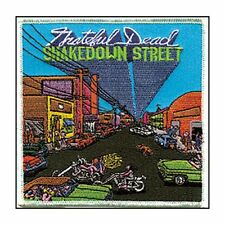 "Grateful Dead - Shakedown Street 4"" Logo Sew Ironed On Embroidery Applique Patch"