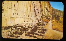 New Mexico, Long House of Bandelier, Cliff Dwelling (unused(indiansA#535