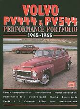 Volvo Pv444 and Pv544, 1945-1965 by R. M. Clarke (2001, Paperback)