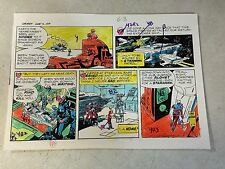 STAR HAWKS original art color guide SCI FI, 1979, GIL KANE, one of a kind!!