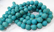 """AAA Quality Far Turquoise Beads , Size 15mm , Strand of 15"""" Long , Free Shiping"""