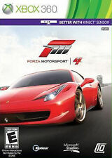 Forza Motorsport 4 (Microsoft Xbox 360, 2011)Manual and Disc Only