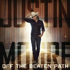 Off the Beaten Path by Justin Moore (CD, Sep-2013, Valory) DELUXE (NEW)