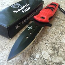 Tactical Outdoor Rescue ASSISTED OPEN COMBAT POCKET KNIFE BOWIE 270RD