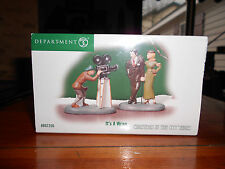 DEPT 56 CHRISTMAS IN THE CITY Accessory IT'S A WRAP NIB