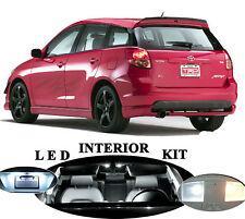 LED Package - Interior + License + Vanity + Reverse for Toyota Matrix (8 Pcs)