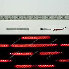 Red 1FT 12' 30CM 32 Led Knight Rider Strobe Scanner Flexible Strip Light M009