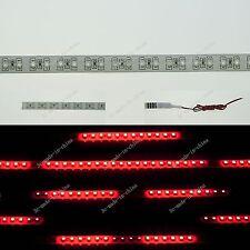 Red 1FT 12' 30CM 32 Led Knight Rider Strobe Scanner Flexible Strip Light M009