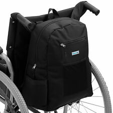 SUPPORTEC DELUXE WHEEL CHAIR BAG/MOBILITY SCOOTER SHOPPING HOLDALL WHEELCHAIR