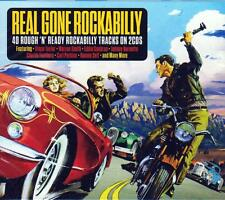 REAL GONE ROCKABILLY - VARIOUS ARTISTS (NEW SEALED 2CD)