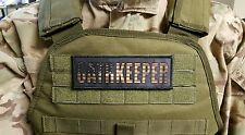 Oathkeeper 2x6 Flag Morale Patch for chest rig plate carrier  III% Sheepdog USA