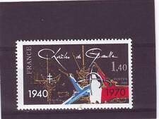 France-sg2379 neuf sans charnière 1980 40e anniv appel & 10th anniv de la mort de gaulle
