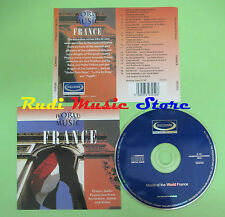 CD WORLD OF MUSIC FRANCE compilation 1997 JACK EMBLOW ANGELO (C26) no mc lp dvd