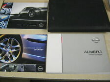 NISSAN ALMERA  OWNERS MANUAL HANDBOOK 2003-2008