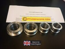 Yamaha R6 1999 2000 2001 2002  5EB Captive race wheel Spacers. Full set.